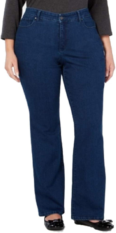 Charter Club Plus Size Prescott Bootcut TummyControl Jeans