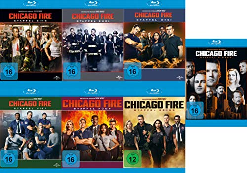Chicago Fire - Staffel 1-7 [Blu-ray]