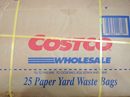 Costco Lawn and Leaf Bag 2 Ply 30 Gal 25 Ct