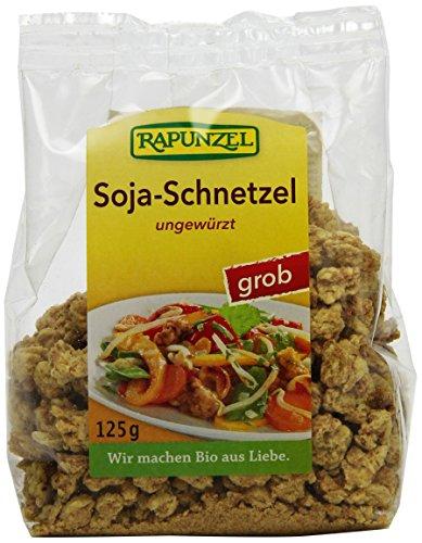 Rapunzel Soja-Schnetzel grob, 4er Pack (4 x 125 g) - Bio