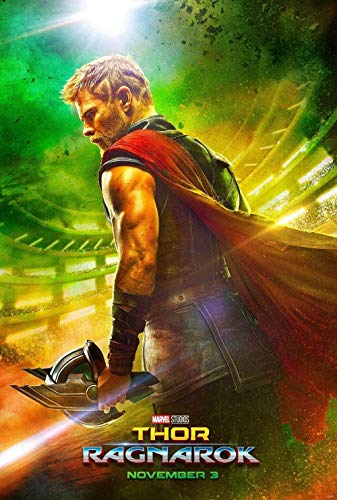 Puzzle 1000 Pieces - Thor's Movies Posters: Ragnarok -Puzzle 3D Custom Paper Mount Puzzle Funny Creative Classic Jigsaw(38 * 26cm)