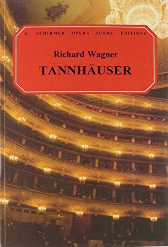 Price comparison product image Tannhauser: Vocal Score