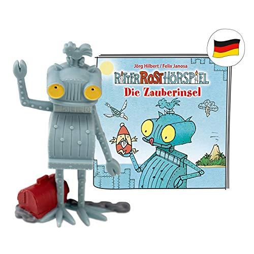tonies Hörfiguren für Toniebox - Ritter Rost - Die Zauberinsel - ca. 40 Min. - Ab 4 Jahre -DEUTSCH