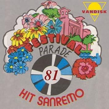Festival Parade Hit San Remo 81