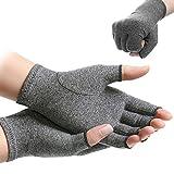 Centerline Compression Arthritis Gloves Active Gloves Hand Therapy Fingerless Gloves for Men Women