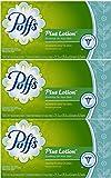 Puffs Plus Lotion Facial Tissues, 3 Box Each 124 ct