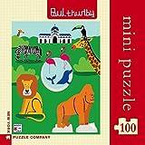 Zoo Mini - NYPC Paul Thurlby colección Mini Puzzle 100 Piezas