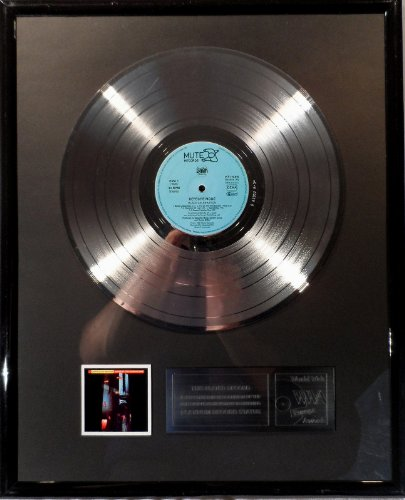 Depeche Mode Black Celebration platin Schallplatte (goldene Schallplatte)