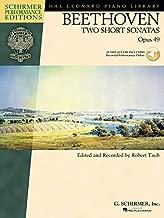 Beethoven - Two Short Sonatas, Opus 49 (Hal Leonard Piano Library)