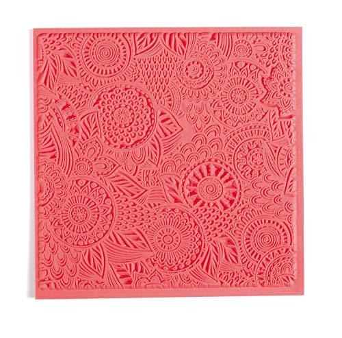 Floral - Tapis de Texture pour Pâte à Modeler Polymère