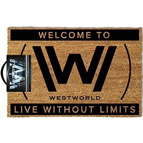 Westworld Lebe ohne Grenzen Fußmatte | Offizielle Ware | Heimzubehör