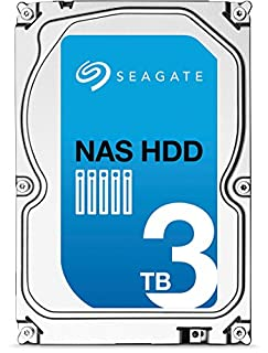 (Old Model) Seagate 3TB NAS HDD SATA 6Gb/s 64MB Cache 3.5-Inch Internal Bare Drive (ST3000VN000),Black (B00D1GYNU8) | Amazon price tracker / tracking, Amazon price history charts, Amazon price watches, Amazon price drop alerts