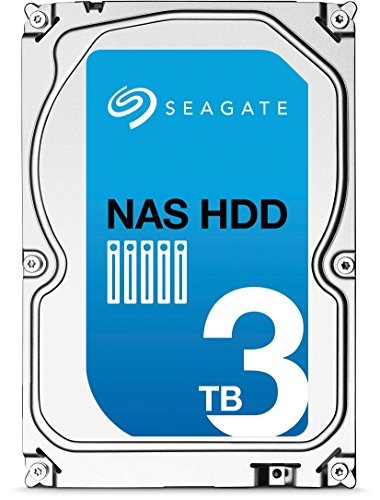 Seagate Nas ST3000VN000 HDD, 3 TB, Nero