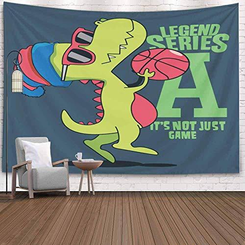 N\A Forest Tapestry, TapestryChristmas Tapestr Tapiz de Pared de Invierno Tapiz de Ciervo para la Sala de Estar Tapiz de Naturaleza Diseño de Jugador de Baloncesto para niños Camiseta