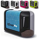 POWERME Electric Pencil Sharpener - Pencil Sharpener Battery...