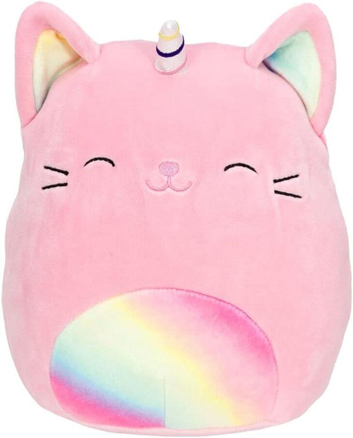 "Squishmallow KellyToy 16"" Selling rankings Sabrina The 2021new shipping free Caticorn P Plush Pink"