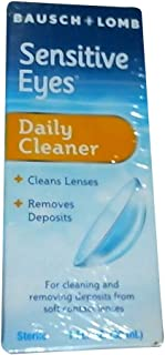 bausch and lomb soft contact lens cleaner