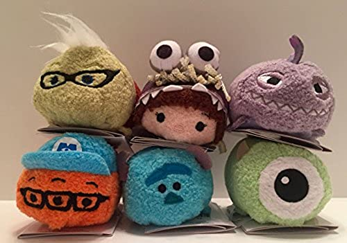 Disney - Monsters Inc. Mini ''Tsum Tsum'' Plush Collection set of 6 by Disney