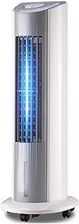 Qiutianchen Aire Acondicionado Ventilador de enfriamiento de la Torre Dormitorio en casa Pequeño Ventilador frío Suelo móvil Ventilador (Color : A)