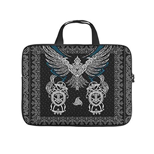Daily Viking Eagle Laptop Bags Stylish Scratch Resistant Tablet Bag Suitable for Commuter