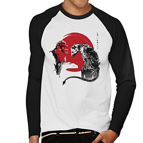 Cloud City 7 The Guardian Inspired by The Last Guardian Men's Baseball Long Sleeved T-Shirt