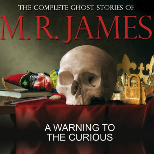 A Warning to the Curious audiobook cover art