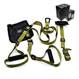 Lalaoo Resistance Training Straps Set, Workout Yoga Straps Fitness <span class='highlight'>Trainer</span> Kit for Suitable Travel and Training Indoor and Outdoor