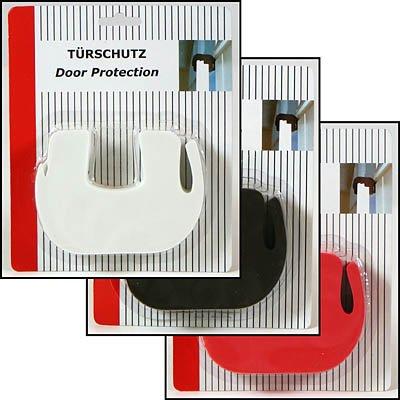 Türschutz 120x24x85 mm, aus hartem Schaumstoff, Tür-Stop, 1 aus 3 Farben