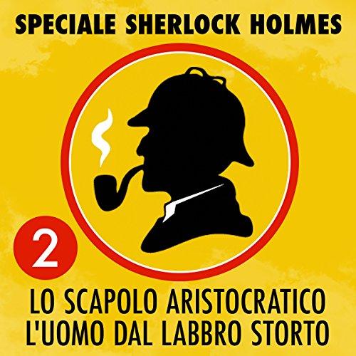Lo scapolo aristocratico / L'uomo dal labbro storto audiobook cover art