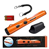 Fully Waterproof Pinpoint Metal Detector Pinpointer - Include a 9V Battery, 360°Search Treasure