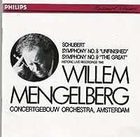 Symphonies Nos.8 & 9 / Concertgebouw Orchestra, Amsterdam / Mengelberg