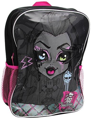 Monster High, Sac à Dos Noir Noir Taille Unique