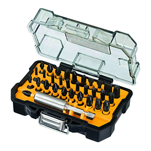 DeWalt Extreme Impact Torsion boor- en schroefbitset (32-dlg. Set in Touch Case, incl. bithouder, geschikt voor gebruik in slagschroevendraaier) DT70523T