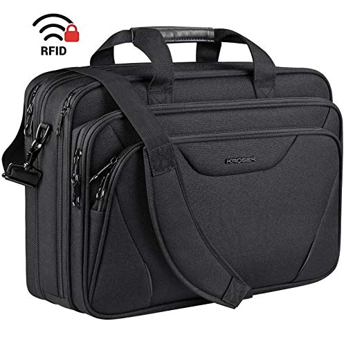 KROSER 18' Laptop Bag Premium Laptop Briefcase Fits Up to 17.3 Inch Laptop...