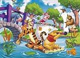 Clementoni - Puzzle Infantil de Winnie The Pooh (104 Piezas)
