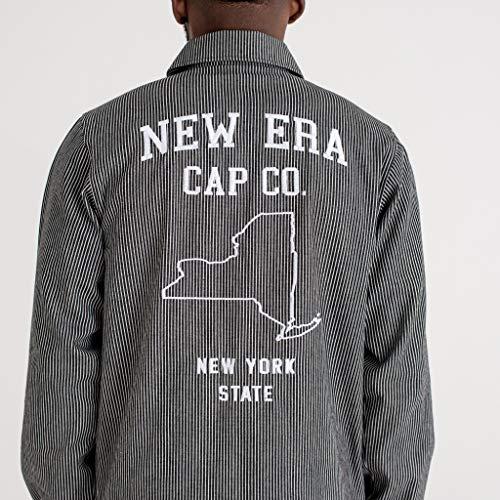 New Era Jacke - Hickory Coaches - Navy/White - L