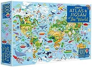 Usborne Atlas and Jigsaw The World