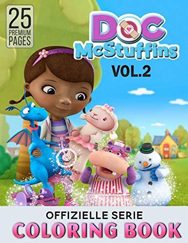 Doc Mcstuffins Coloring Book Vol2: Great Activity Book to Color All Your Favorite Doc Mcstuffins Characters