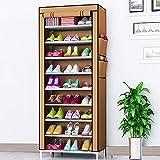 Mutiwill Schuhregal Schuhständer Schuhablage Schuhschrank Schuhe Aufbewahrung 10 Ebenen Für 40 Paar Schwarz
