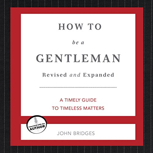 How to Be a Gentleman audiobook cover art