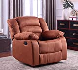 Best Recliners - NHI Express Addison Recliner, Chocolate, Brown Review