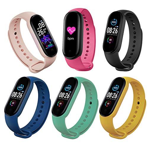 unknows M5 Smartband, M5 Sport Fitness Smartband Pulsera Inteligente Presión Arterial Monitor Cardíaco Frecuencia Banda