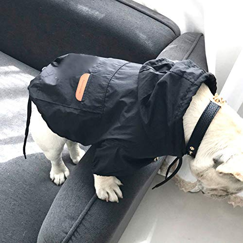 N / A Pet Clothes Dog cat Dog Clothes for Small Dogs Waterproof Jacket for French Bulldog Raincoat for Chihuahua Puppy Pet Costume for YorkshireWarm and Windproof