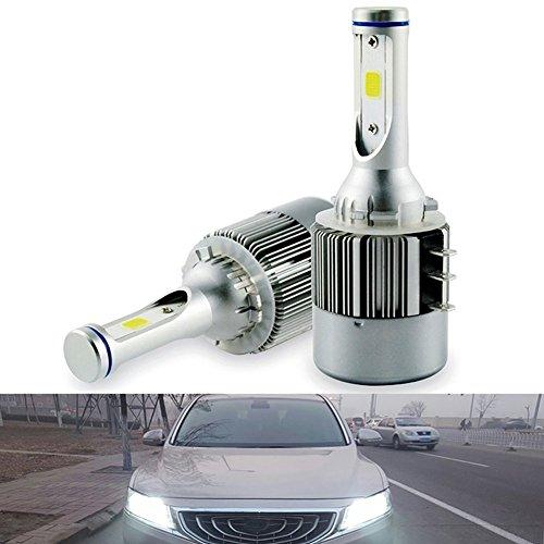 2x H15–Kit de faros delanteros LED libre de errores canbus luces DRL luz diurna 6000K blanco luz