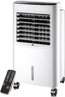 Ventilador de aire acondicionado frío y caliente 4in1 Aircooler | Control remoto | Aire acondicionado | Enfriador de aire evaporativo, 3 niveles de velocidad ionizador humidificador enfriador de air