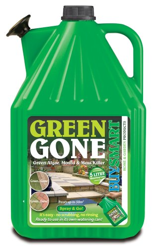 Buysmart Products Ltd Unknown Buysmart Products 5L Green Gone Ready to Use Algae Mould/Moss Killer,...