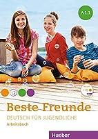 Beste Freunde A1/1. Arbeitsbuch mit Audio-CD: Deutsch fuer Jugendliche.Deutsch als Fremdsprache / Arbeitsbuch mit Audio-CD