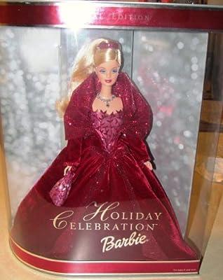 2002 Holiday Celebration Barbie Mattel