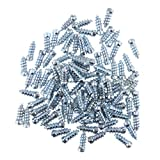 D DOLITY 100pcs 18mm 0.6inch Car SUV ATV Anti-Slip Tires Studs Screw Wheel Tyre Snow Spikes for Truck Bike...