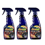 CitruSafe 16 Fl Oz BBQ Grill Cleaner Three Pack (48 Fl Oz Total) - Cleans Burnt Food and Grease from...